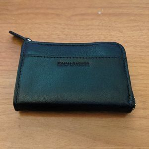 Italy leather coin purse***